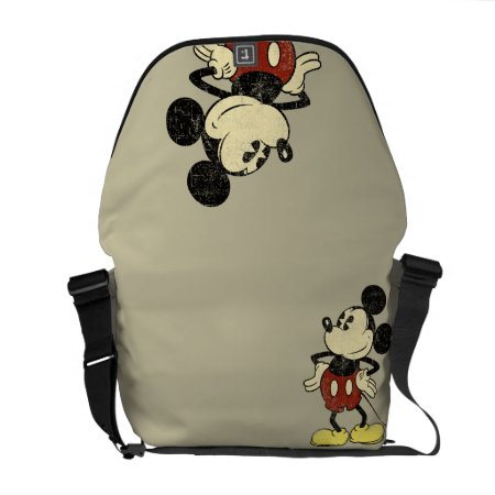 Classic Mickey | Vintage Hands On Hips Messenger Bag