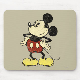 Classic Mickey | Vintage Hands on Hips Mouse Pad