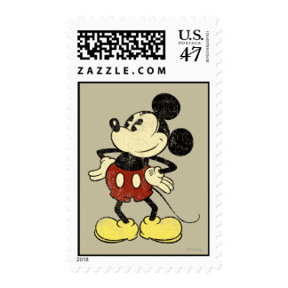 Classic Mickey   Vintage Hands on Hips Postage