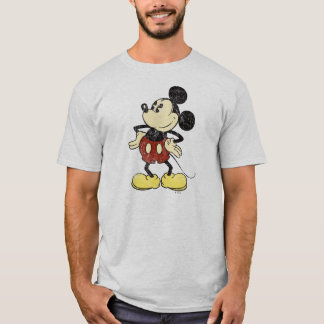 Classic Mickey   Vintage Hands on Hips T-Shirt