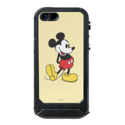 Incipio Feather Shine iPhone 5/5s Case with Classic Mickey Mouse design