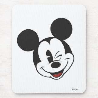 Classic Mickey Wink Mouse Pad