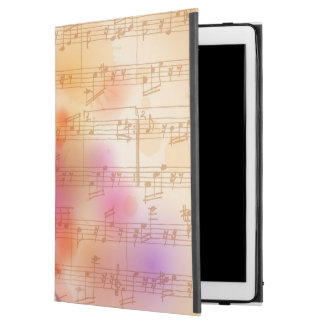 """Classic Microphone, watercolor background iPad Pro 12.9"""" Case"""