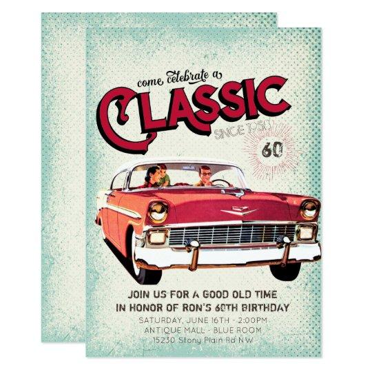 Classic Mid Century Car