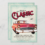 """Classic Mid Century Car 