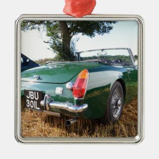 Classic Midget Sportscar Christmas Ornaments