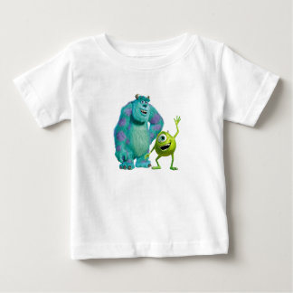 Classic Mike & Sully Waving Disney Baby T-Shirt