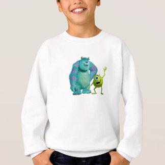 Classic Mike & Sully Waving Disney Sweatshirt