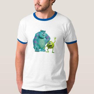 Classic Mike & Sully Waving Disney T-Shirt