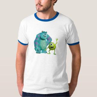 Classic Mike & Sully Waving Disney T-shirts