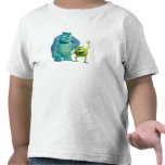 Classic Mike & Sully Waving Disney Tees
