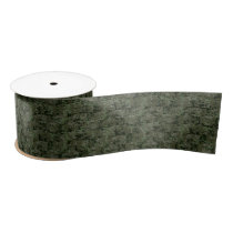 Classic Military Digital Camo Pattern Satin Ribbon
