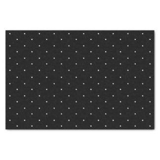 """Classic Mini White Polka Dots Pattern Tissue Paper 10"""" X 15"""" Tissue Paper"""