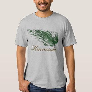 Classic Minnesota Fish Fishing Traveler T-shirt