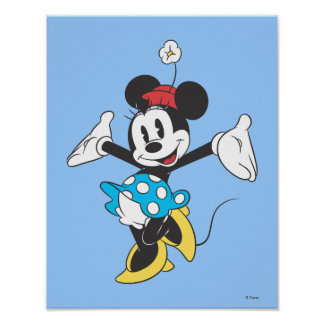 Classic Minnie | Excited Poster