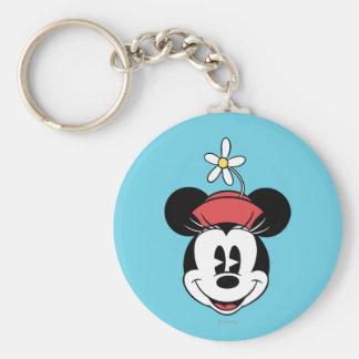 Classic Minnie | Flower Face Keychain