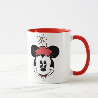Classic Minnie | Flower Face Mug