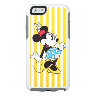 Classic Minnie | Flower OtterBox iPhone 6/6s Case