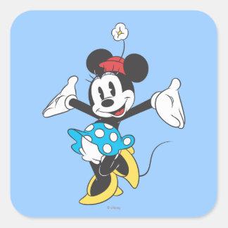 Classic Minnie Mouse 2 Square Sticker