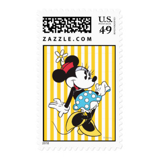Classic Minnie Mouse 3 Postage Stamp