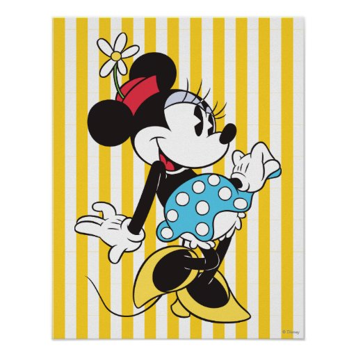 Classic Minnie Mouse Poster