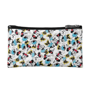 Classic Minnie Mouse 4 2 Cosmetic Bag at Zazzle