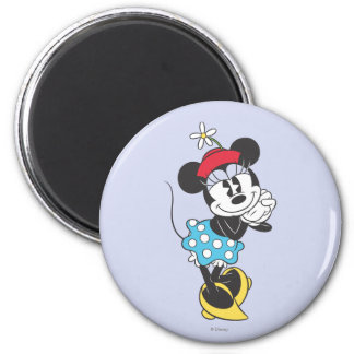 Classic Minnie Mouse 4 2 Inch Round Magnet