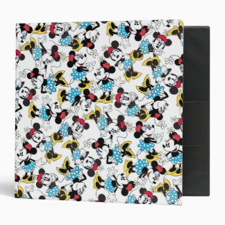 Classic Minnie Mouse 4 Binder