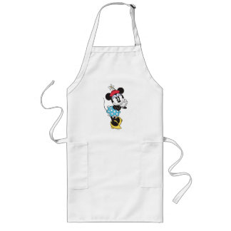 Classic Minnie Mouse 4 Long Apron