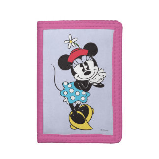 Classic Minnie Mouse 4 Tri-fold Wallet