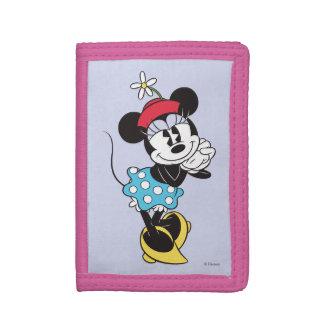 Classic Minnie Mouse 4 Tri-fold Wallets