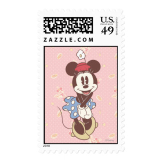 Classic Minnie Mouse 7 Postage Stamps