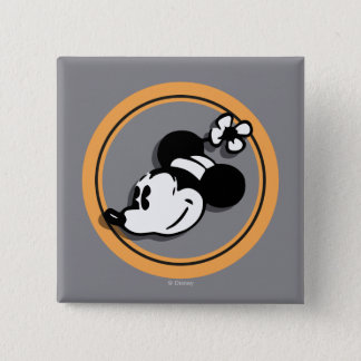 Classic Minnie Mouse Button
