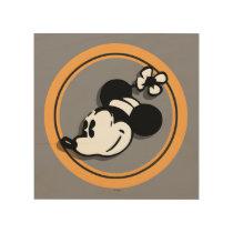 Classic Minnie Mouse Wood Print