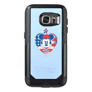Classic Minnie | Patriotic OtterBox Samsung Galaxy S7 Case