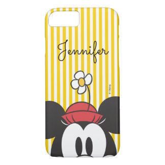 Classic Minnie | Peek-a-Boo | Your Name iPhone 7 Case