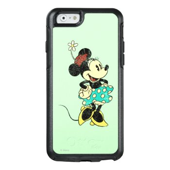 Classic Minnie   Vintage Otterbox Iphone 6/6s Case by disney at Zazzle