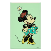 Classic Minnie | Vintage Poster