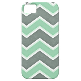 Classic Mint Chevron iPhone SE/5/5s Case