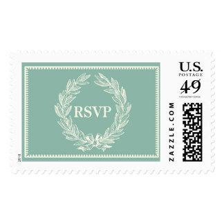 Classic Mint Laurel RSVP | Atelier Isabey Stamps