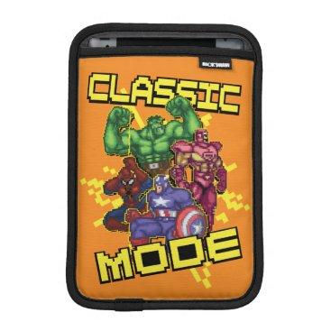 """Classic Mode"" Marvel Video Game Character Sprites iPad Mini Sleeve"