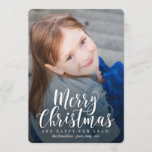 "Classic Modern Holiday Card Christmas Card<br><div class=""desc"">Celebrate the season with this modern and stylish holiday card from Berry Berry Sweet. Matching items and more design options are available at our store: www.berryberrysweet.com</div>"