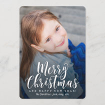 Classic Modern Holiday Card Christmas Card