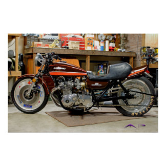 Classic Modified Z1 Dragbike Poster