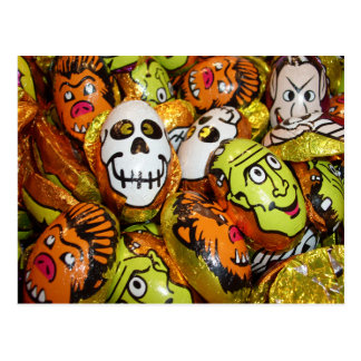 Classic Monsters Foil Candy Postcard