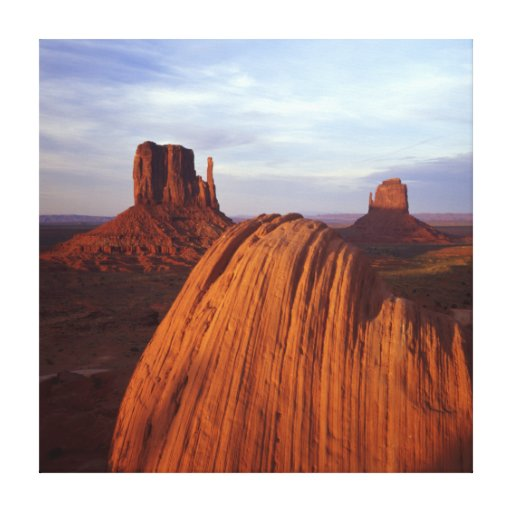 Classic Monument Valley Canvas Print