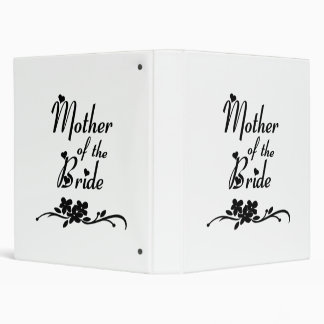 Classic Mother of the Bride 3 Ring Binder