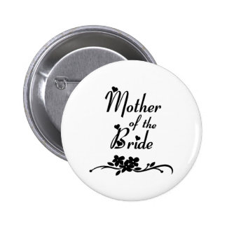 Classic Mother of the Bride Button