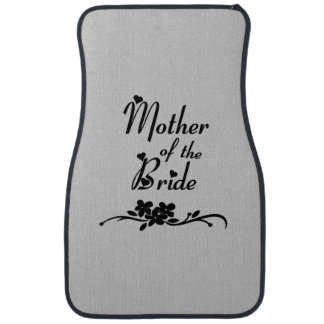 Classic Mother of the Bride Car Mat