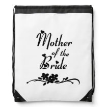 Classic Mother of the Bride Drawstring Bag